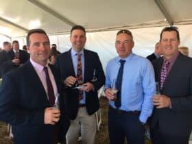 Brett Crothers, Brett McLaren, John Fuelling, Simon James