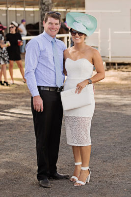 Craig McVeigh and Prue Burraston